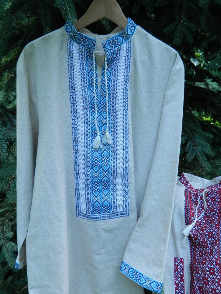 525bb8fd413a Dlhá slovanská košeľa. Unikátna stará slovanská košeľa